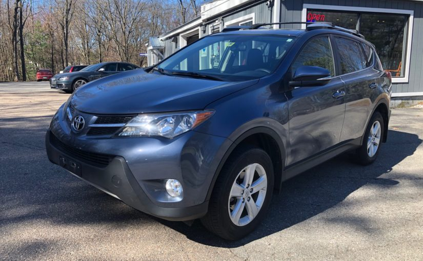 2013 Toyota RAV4 XLE with only 51K miles!