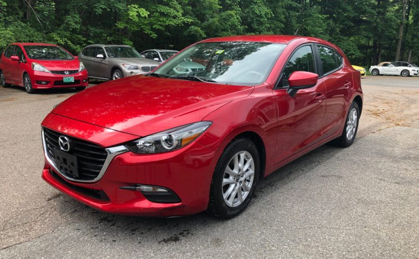 2017 Mazda 3 Touring with only 19K miles!