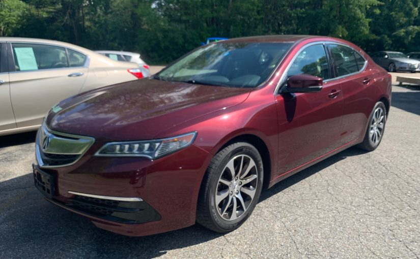 2016 Acura TLX with 45K miles!