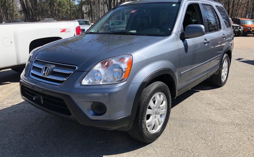 2006 Honda CRV SE with only 108K miles