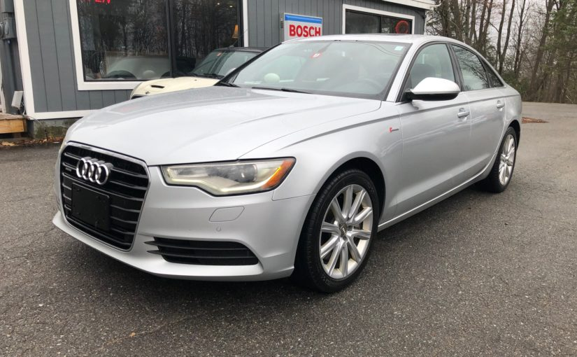 2013 Audi A6 3.0 supercharged!