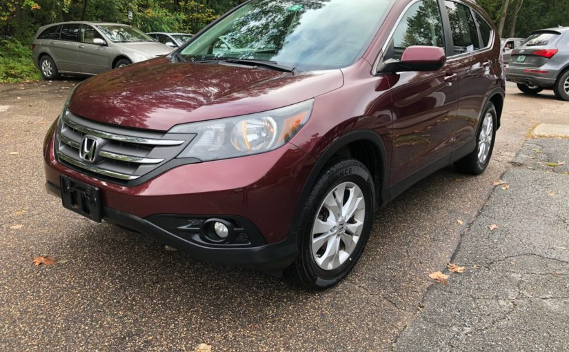 2013 Honda CRV EX-L with rear entertainment!