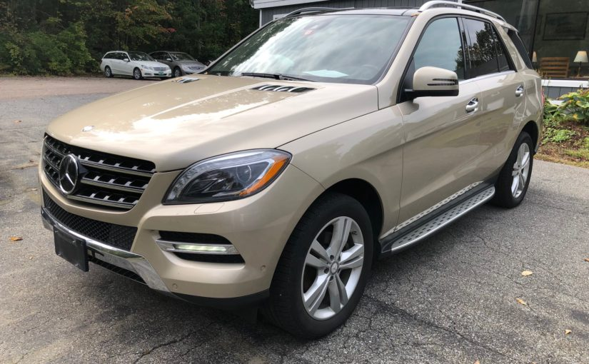 2013 Mercedes ML350 4matic