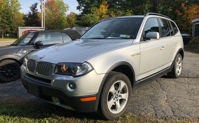 2008 BMW X3 6 speed! Only 78K miles