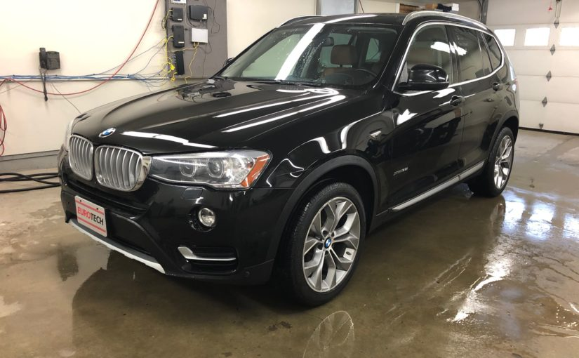 2017 BMW X3 3.5i Xdrive