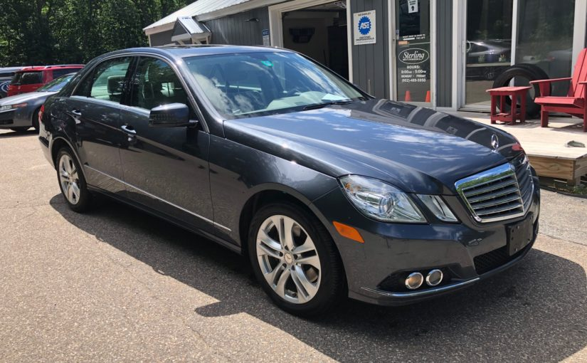 2010 Mercedes E350 4M with 49K miles